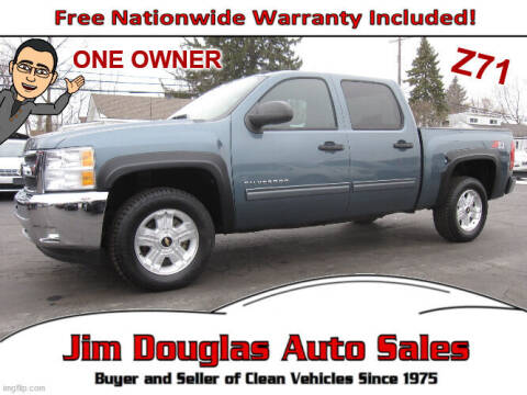 2011 Chevrolet Silverado 1500 for sale at Jim Douglas Auto Sales in Pontiac MI