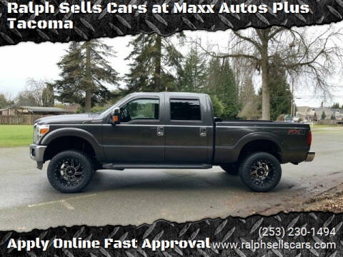2016 Ford F-350 Super Duty for sale at Ralph Sells Cars at Maxx Autos Plus Tacoma in Tacoma WA