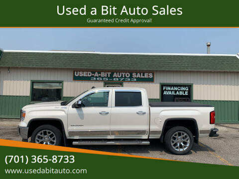 2014 GMC Sierra 1500 for sale at Used a Bit Auto Sales in Fargo ND
