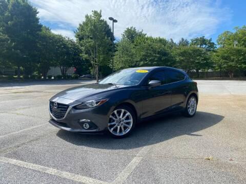 2015 Mazda MAZDA3 for sale at Uniworld Auto Sales LLC. in Greensboro NC