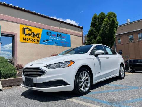 2017 Ford Fusion Hybrid for sale at Car Mart Auto Center II, LLC in Allentown PA