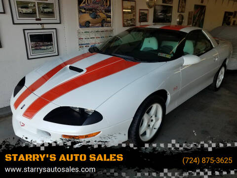 1997 Chevrolet Camaro for sale at STARRY'S AUTO SALES in New Alexandria PA
