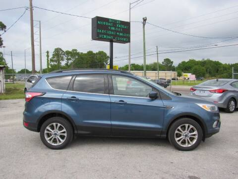 2018 Ford Escape for sale at Checkered Flag Auto Sales EAST in Lakeland FL