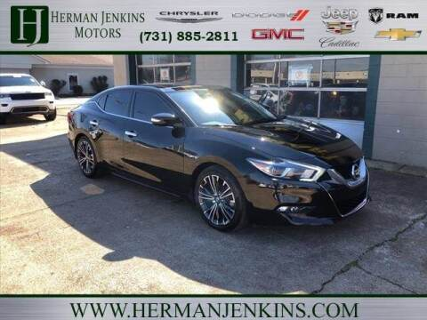 2016 Nissan Maxima for sale at Herman Jenkins Used Cars in Union City TN