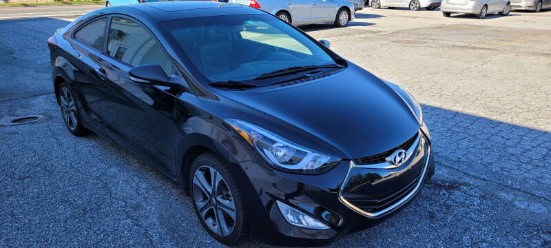 2014 Hyundai Elantra Coupe for sale at WEELZ in New Castle DE