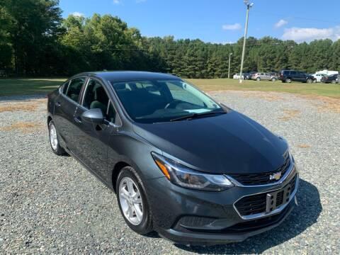 2018 Chevrolet Cruze for sale at Sanford Autopark in Sanford NC