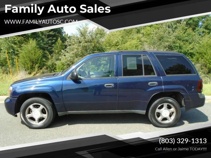 2008 Chevrolet TrailBlazer for sale at Family Auto Sales in Rock Hill SC