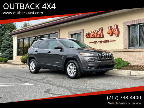 2015 Jeep Cherokee for sale at OUTBACK 4X4 in Ephrata PA