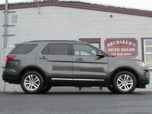 2018 Ford Explorer for sale at Brubakers Auto Sales in Myerstown PA