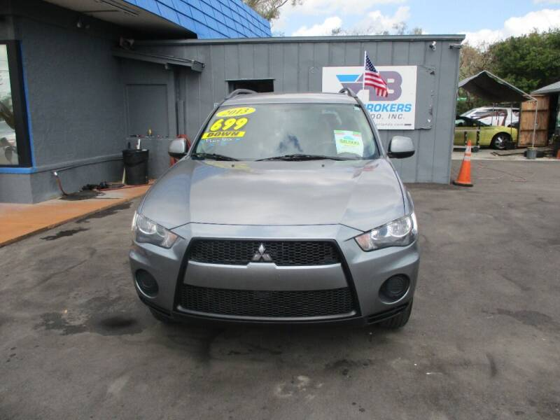 2013 Mitsubishi Outlander for sale at AUTO BROKERS OF ORLANDO in Orlando FL