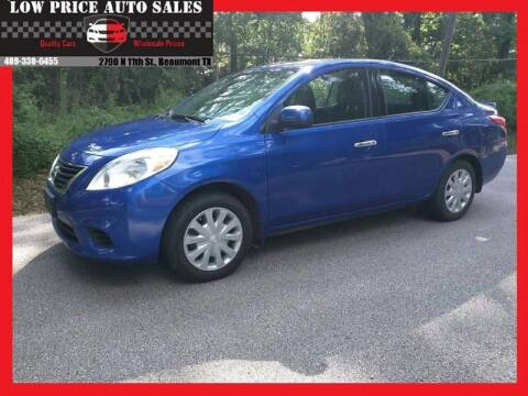 2014 Nissan Versa for sale at Low Price Autos in Beaumont TX