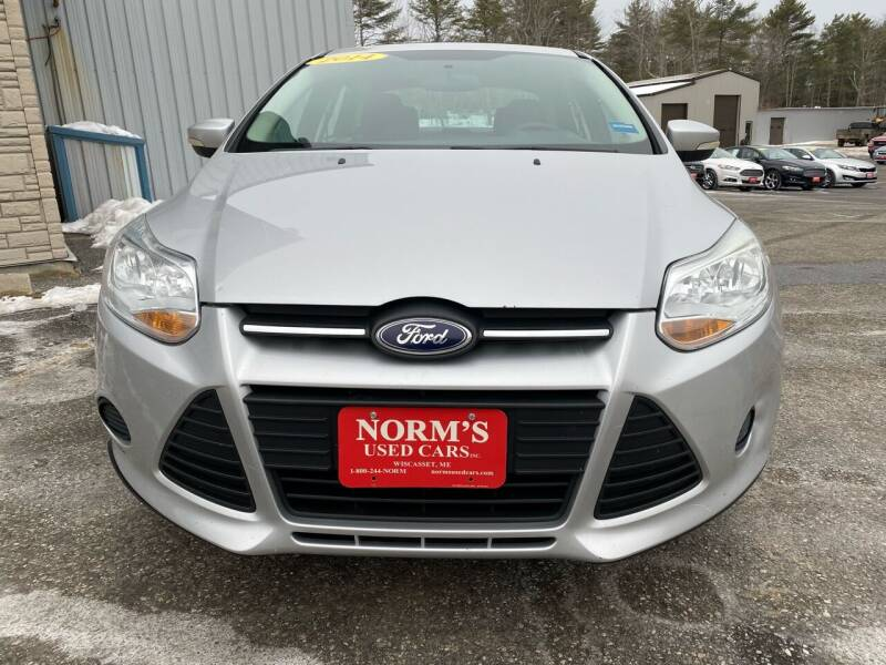 2014 Ford Focus for sale at NORM'S USED CARS INC - Trucks By Norm's in Wiscasset ME