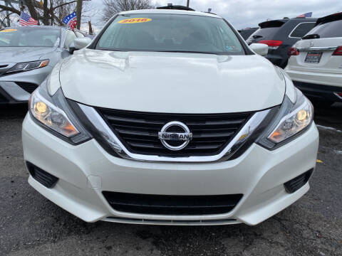 2016 Nissan Altima for sale at Nasa Auto Group LLC in Passaic NJ