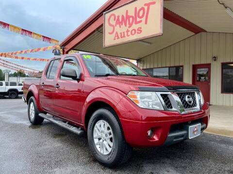 2014 Nissan Frontier for sale at Sandlot Autos in Tyler TX