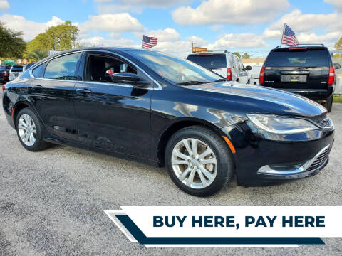 2015 Chrysler 200 for sale at Rodgers Enterprises in North Charleston SC