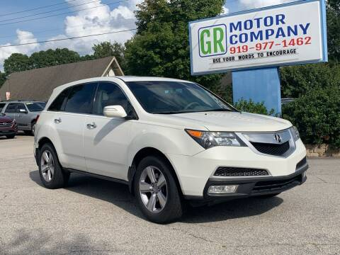 2013 Acura MDX for sale at GR Motor Company in Garner NC