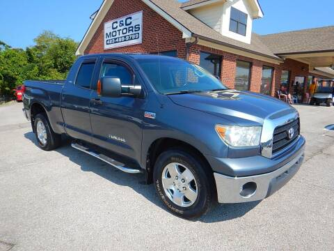 2008 Toyota Tundra for sale at C & C MOTORS in Chattanooga TN