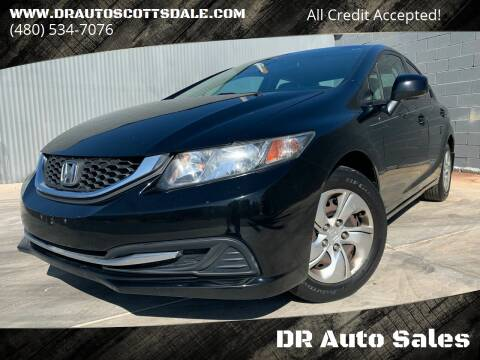 2013 Honda Civic for sale at DR Auto Sales in Scottsdale AZ