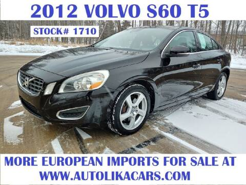 2012 Volvo S60 for sale at Autolika Cars LLC in North Royalton OH