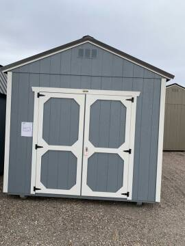 2021 Shed 10x16 Utility 8'walls for sale at Auto Image Auto Sales in Pocatello ID