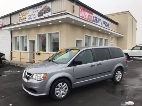 2015 Dodge Grand Caravan for sale at Suarez Auto Sales in Port Huron MI
