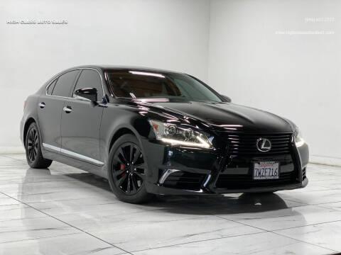 2014 Lexus LS 460 for sale at HIGH CLASS AUTO SALES in Rancho Cordova CA