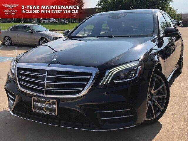 2018 Mercedes-Benz S-Class for sale at European Motors Inc in Plano TX