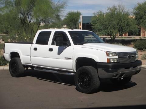 2005 Chevrolet Silverado 2500HD for sale at COPPER STATE MOTORSPORTS in Phoenix AZ