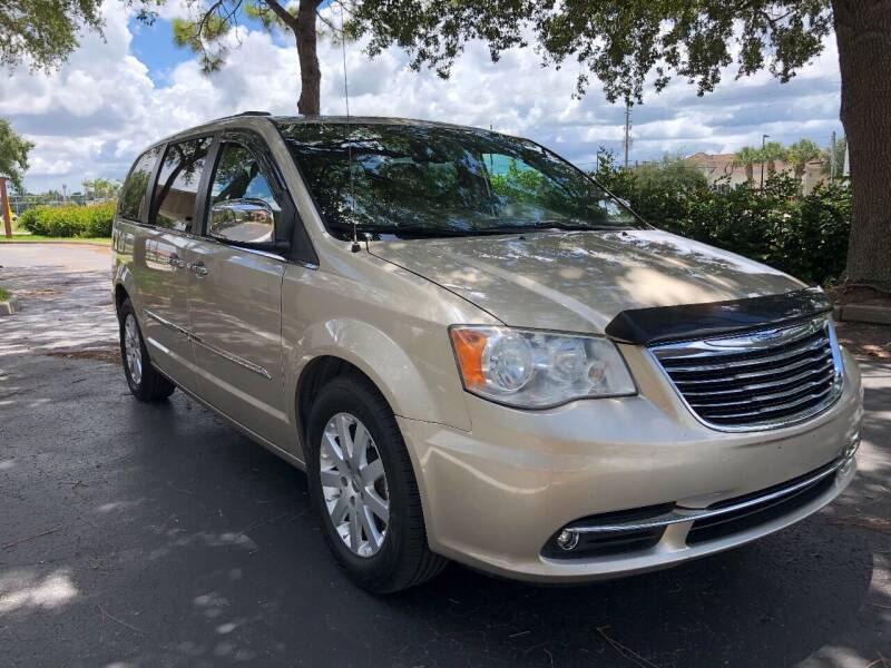 2012 Chrysler Town and Country for sale at Internet Motorcars LLC in Fort Myers FL