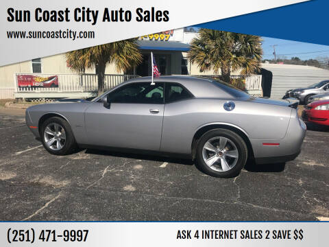 2016 Dodge Challenger for sale at Sun Coast City Auto Sales in Mobile AL