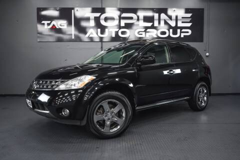 2007 Nissan Murano for sale at TOPLINE AUTO GROUP in Kent WA