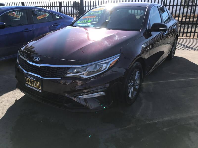 2020 Kia Optima for sale at Soledad Auto Sales in Soledad CA
