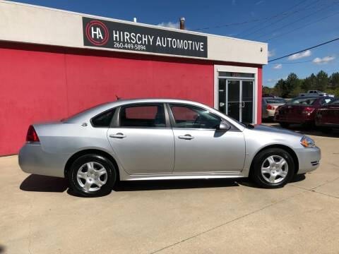 2009 Chevrolet Impala for sale at Hirschy Automotive in Fort Wayne IN