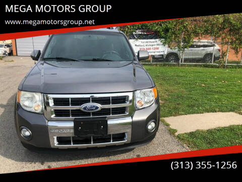 2011 Ford Escape for sale at MEGA MOTORS GROUP in Redford MI