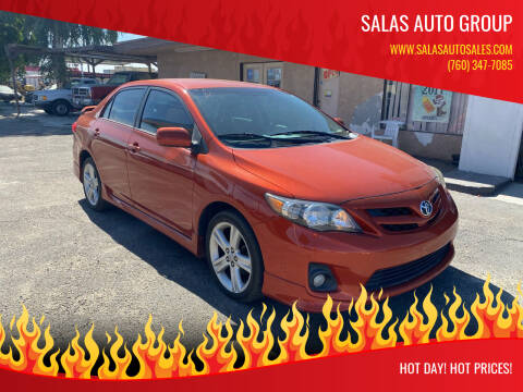 2013 Toyota Corolla for sale at Salas Auto Group in Indio CA