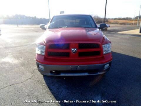 2010 Dodge Ram Pickup 1500 for sale at Gary Simmons Lease - Sales in Mckenzie TN