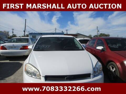 2011 Chevrolet Impala for sale at First Marshall Auto Auction in Harvey IL