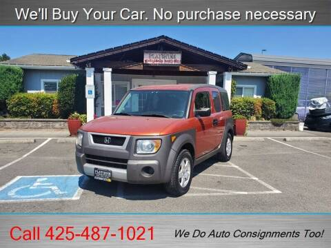 2003 Honda Element for sale at Platinum Autos in Woodinville WA