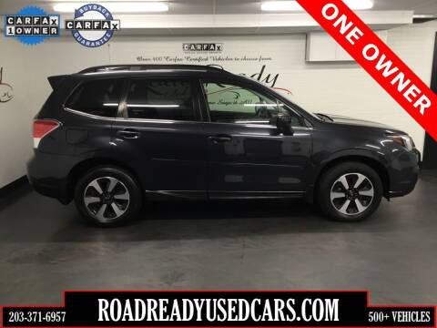 2018 Subaru Forester for sale at Road Ready Used Cars in Ansonia CT
