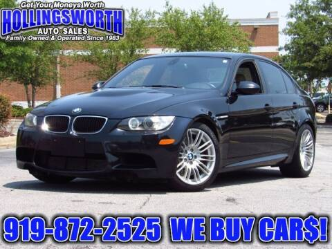 2011 BMW M3 for sale at Hollingsworth Auto Sales in Raleigh NC