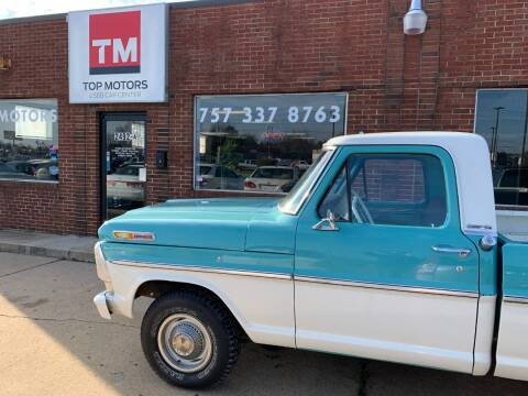 1968 Ford F-100 for sale at Top Motors LLC - Classic Cars in Portsmouth VA