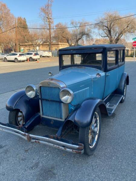 1928 Essex 2 Door Sedan for sale at California Automobile Museum in Sacramento CA