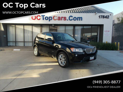 2013 BMW X3 for sale at OC Top Cars in Irvine CA