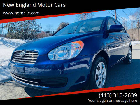 2011 Hyundai Accent for sale at New England Motor Cars in Springfield MA