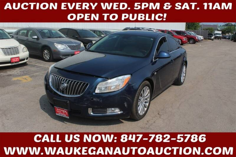 2011 Buick Regal for sale at Waukegan Auto Auction in Waukegan IL