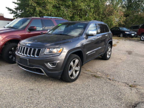 2015 Jeep Grand Cherokee for sale at Monte Motor Sales in Montevideo MN