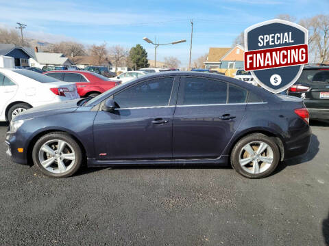 2015 Chevrolet Cruze for sale at Truck 'N Auto Brokers in Pocatello ID