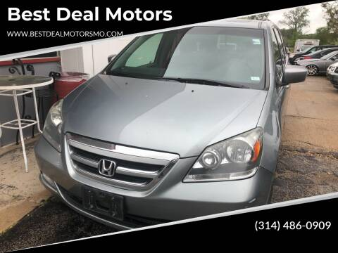 2007 Honda Odyssey for sale at Best Deal Motors in Saint Charles MO