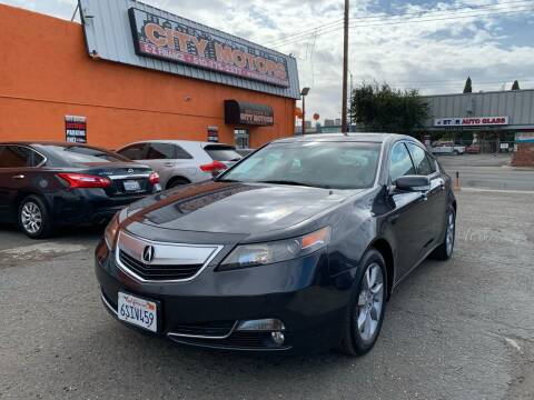 2012 Acura TL for sale at City Motors in Hayward CA