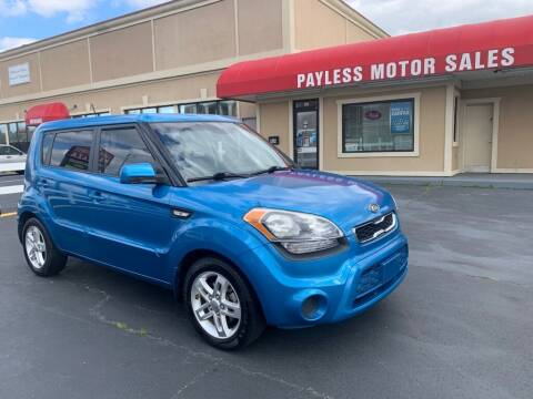 2012 Kia Soul for sale at Payless Motor Sales LLC in Burlington NC